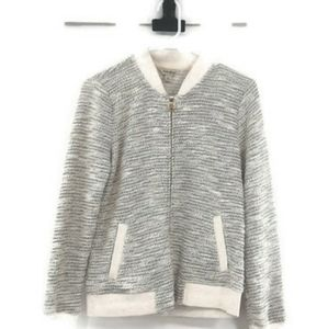 Lucky Brand cardigan sweater zip up SzeS